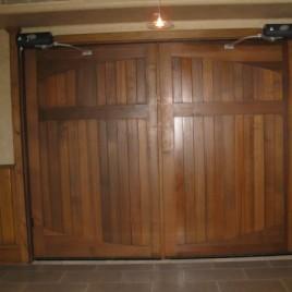 Reducing Garage Door Noises