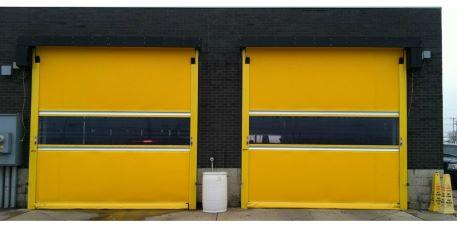 RapidRoll Exterior doors