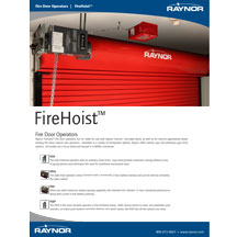 FireHoist Cover