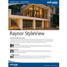 Raynor StyleView Brochure