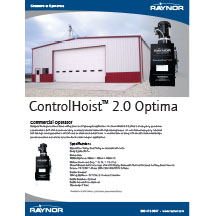 ControlHoist™ 2.0 Optima Cover