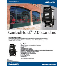 ControlHoist™ 2.0 Standard Cover