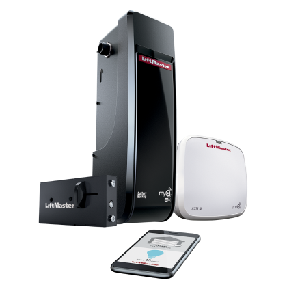 LiftMaster 8500W DC Battery Backup Wall Mount Wi-Fi Garage Door Opener