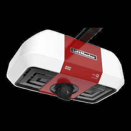 LiftMaster 85503 DC Battery Backup Belt Drive Wi-Fi Garage Door Opener with Camera