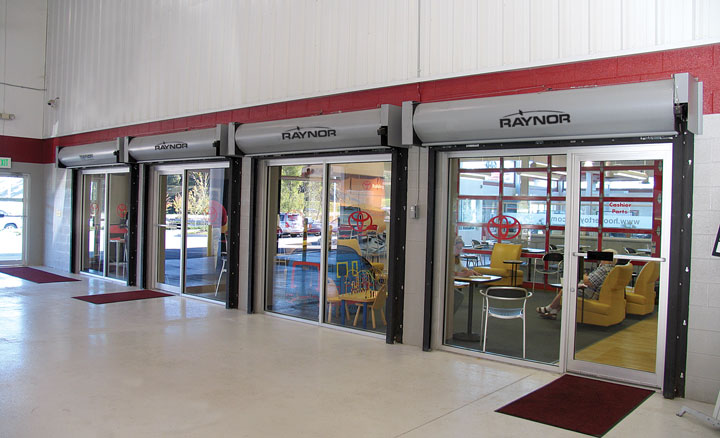 Raynor FireCoil™ Fire-Rated Rolling Doors