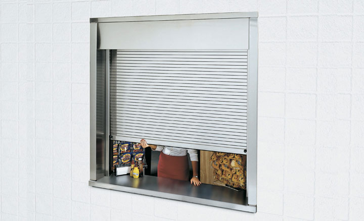 Raynor DuraShutter™ Rolling Counter Shutters