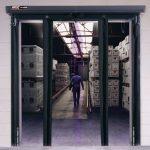 Fast-Fold Pneumatic Cold Storage