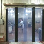 Fast-Fold® Pneumatic Stainless Steel Door