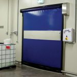 Raynor RapidCoil™ RC100 Commercial High Speed Fabric Doors