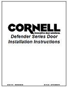 StormDefender Door Install Manual Cover