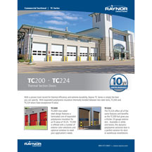 TC224 Thermal Sectional Doors Cover