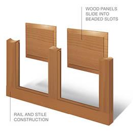 Cutaway Classic Wood