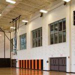 East High School Gym Fire Doors