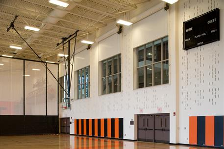 East High School Gym Fire Doors