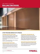 Fire Door (Insulated and Non-Insulated) Feature Sheet Cover