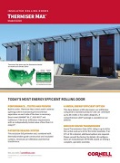 Thermiser Max Insulated Rolling Door Feature Sheet Cover