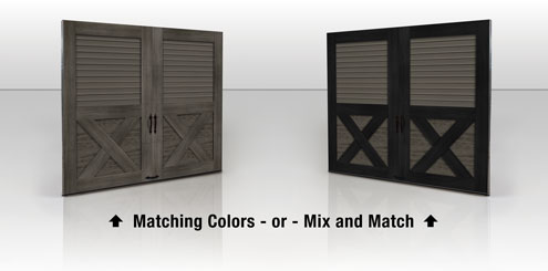 Mix and Match CR Louver