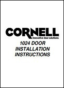 Extreme 1024 Performance Door Install Manual Cover