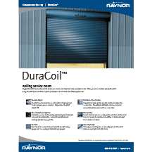 DuraCoil™ Rolling Service Doors Cover