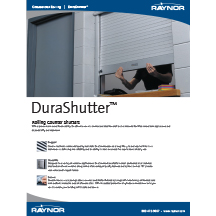 Rolling DuraShutter Cover