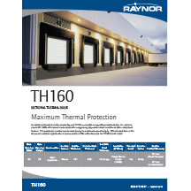 Sectional TH160 Cover