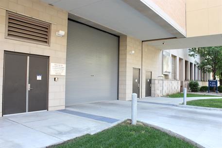 Hospital Service Door