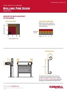 Fire Door Technical Details Sheet Cover