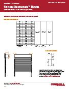 StormDefender Door Technical Detail Sheet Cover
